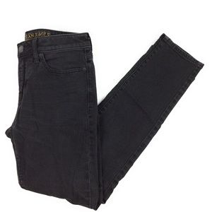 American Eagle Men's Straight Fit Black Denim Jean